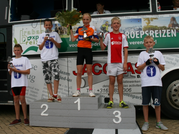 Podium cat 3 Rabo DBR Hank 2015