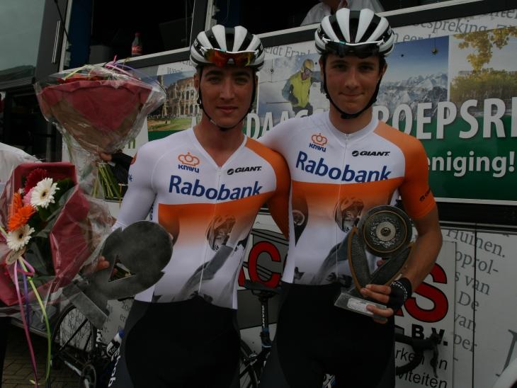 Koppeltijdrit Jan Maas en Michell Cornelisse winnaars Hank 2015